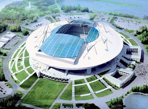 Sobre el Estadio Zenith Arena en San Petersburgo