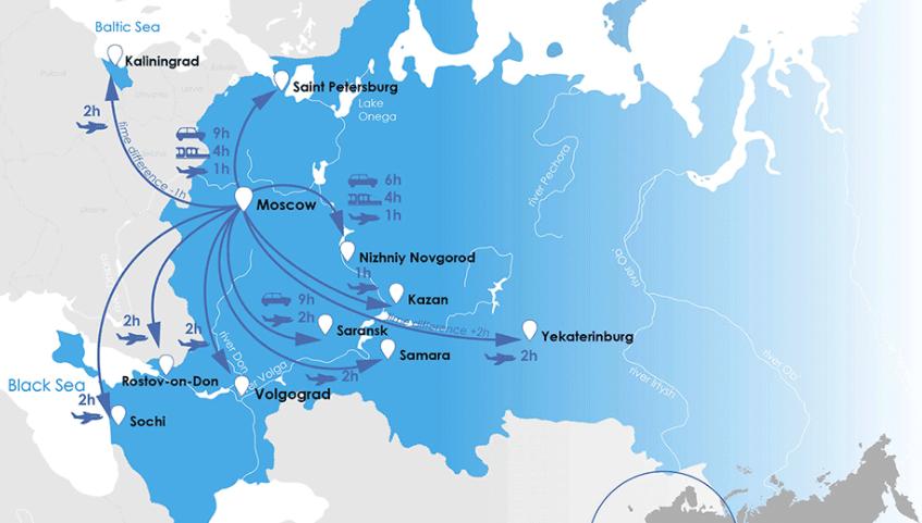 Paquetes turísticos a Rusia