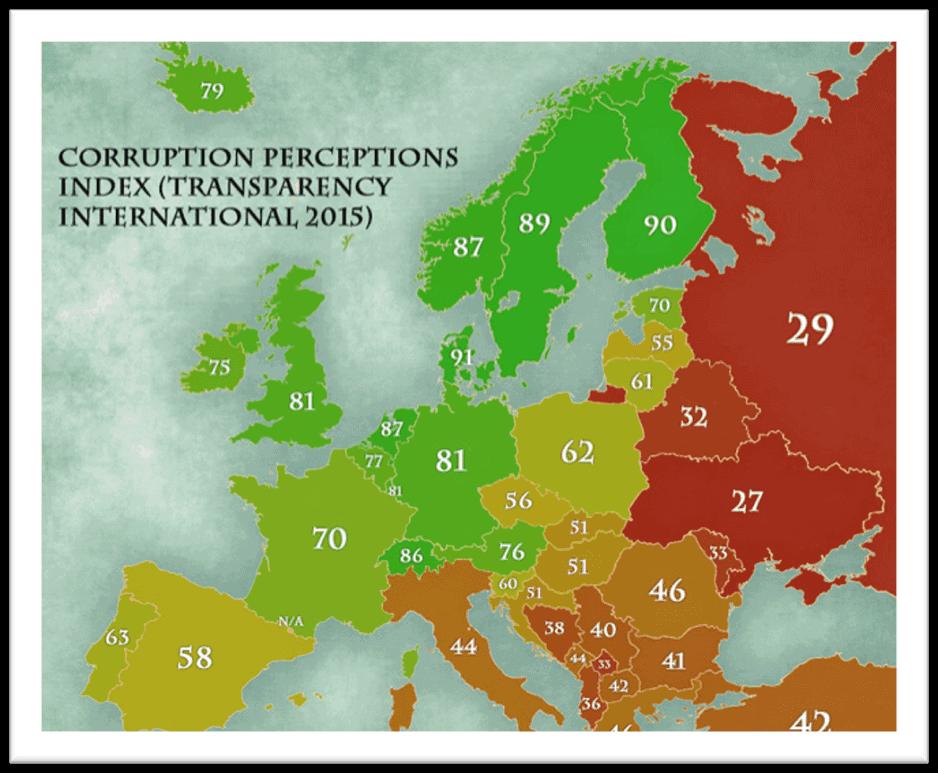 corrupcion en europa rusia