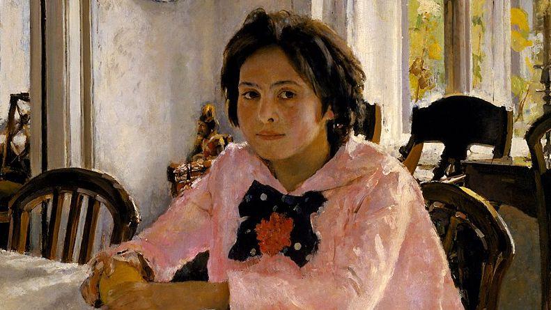 7 obras de Valentin Serov y su historia