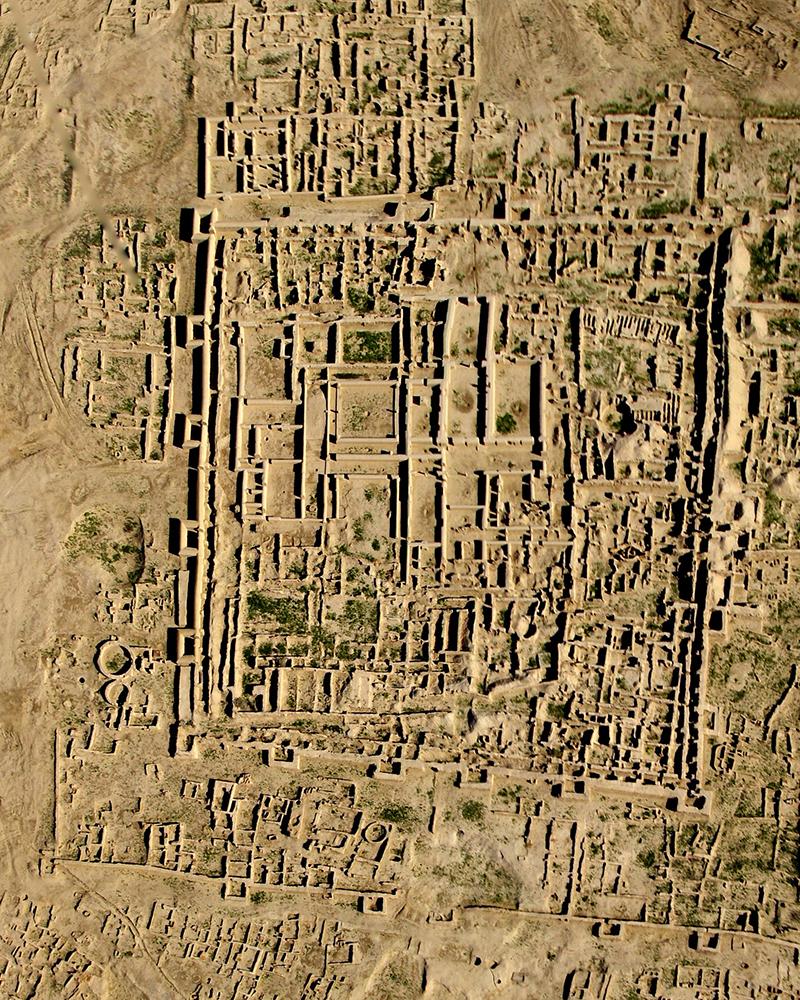 Excavaciones de la ciudad de Gonur Depe