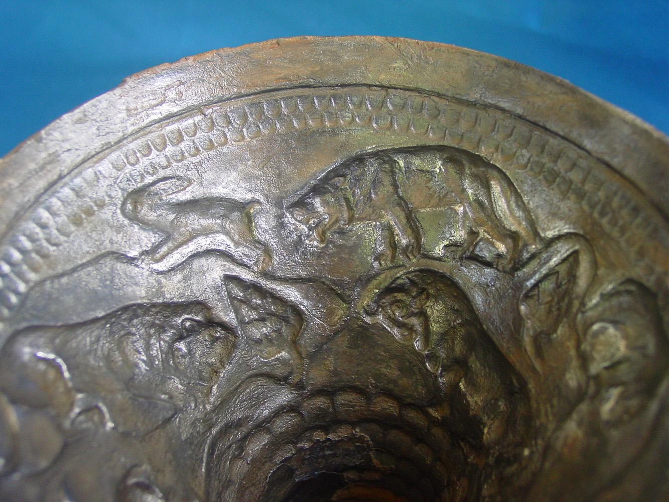 Vasos de plata