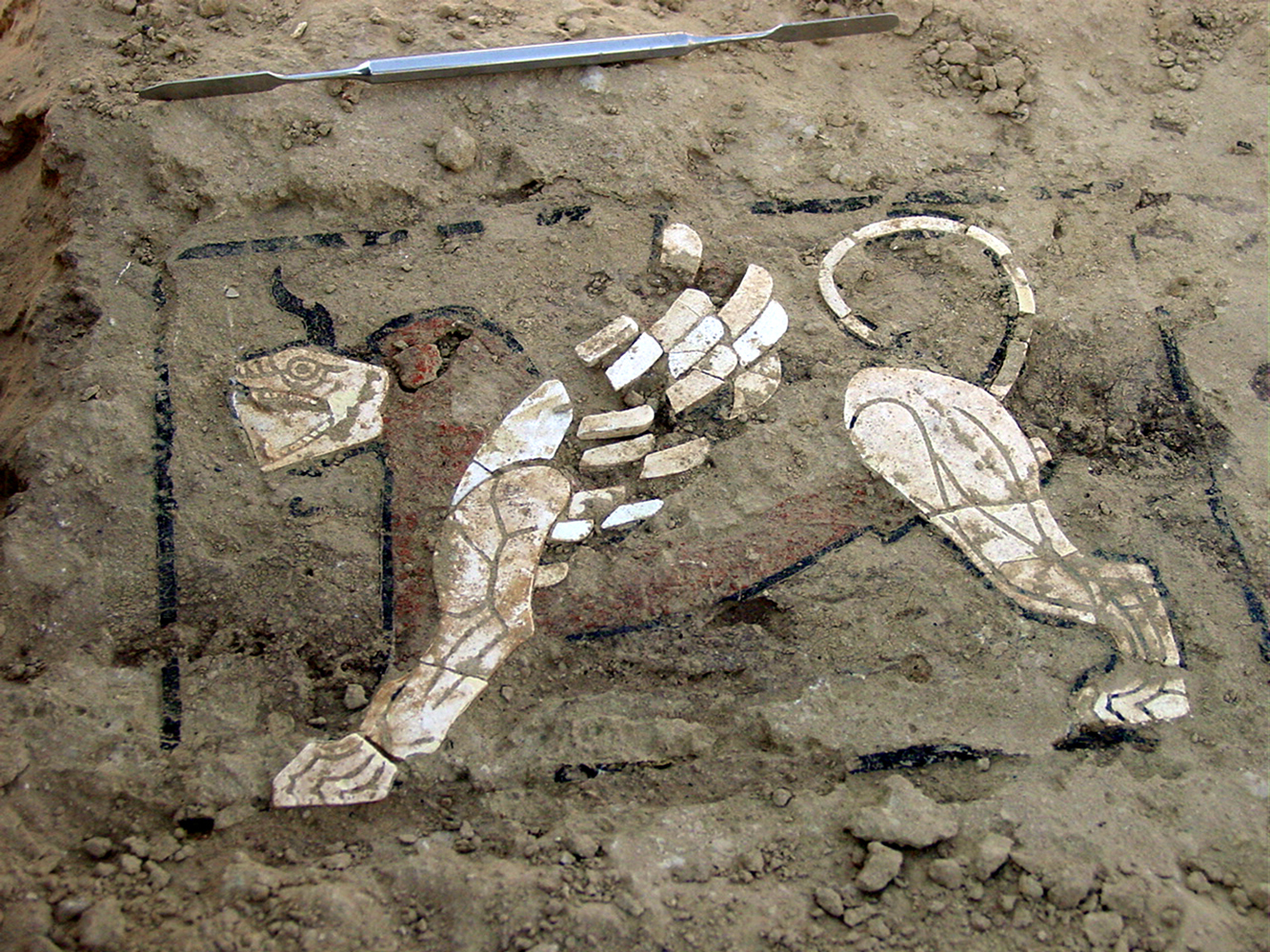 Mosaicos de las tumbas reales